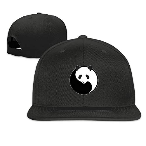 Nordic Runes Panda Cute Funny Snapback Hats for Men Fitted Baseball Cap for Dad
