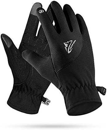 levliong Unisex Touchscreen Winter Thermal Warm Cycling Bicycle Bike Ski Outdoor Camping Hiking Motorcycle Gloves Sports Full Finger: Amazon.es: Deportes y aire libre