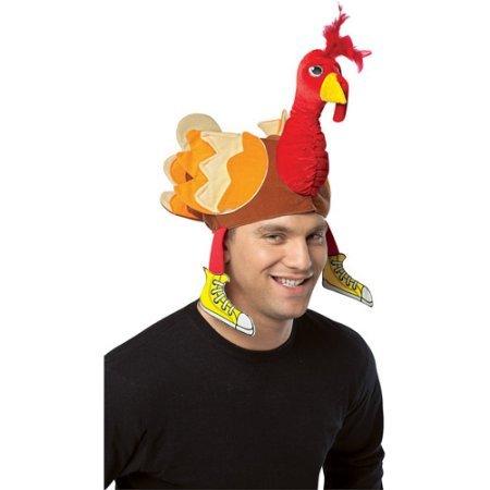 Turkey Hat Adult Halloween Accessory]()