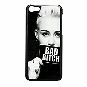 Bad Bitch Miley Cyrus iPhone 5c Case (Black Rubber)