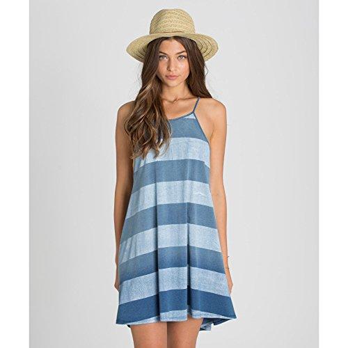 high neck stripe dress - 1