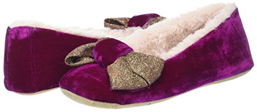 Chaussons Shimmer Pink Rose Bow Orchid natural Bas Ed Ruby And Femme Ballerina Pink qRnvwI0Z7