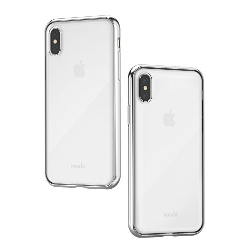 Moshi Vitros for iPhone X (Jet Silver)