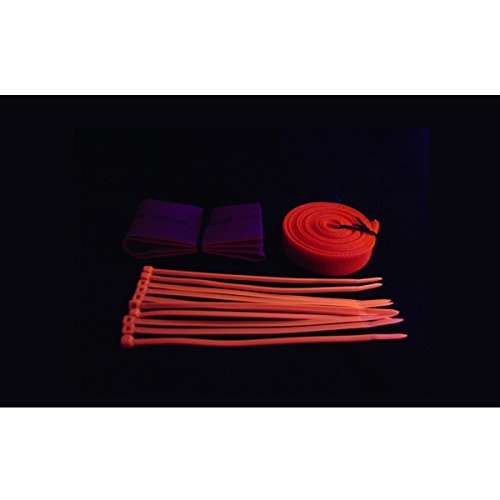 Bits Power UV Reactive Cable Sleeve Kit (BP-UVCSK-RD)
