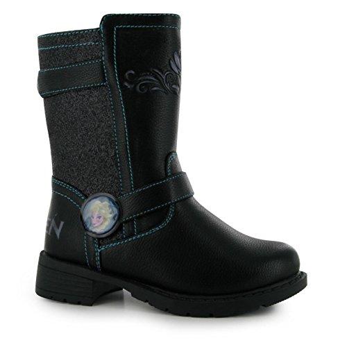 Disney Ninos Calf Tobillo Botas Infantiles Chicas Tacon Casual Invierno Zapatos