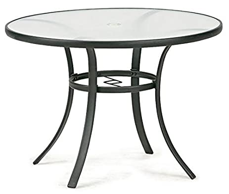 Exceptionnel Essential Garden Bartlett Round Dining Table   Seats 4. Glass Top 40 Inch  Diameter