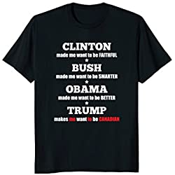 Anti Trump Political Tee For Independents and Liberals