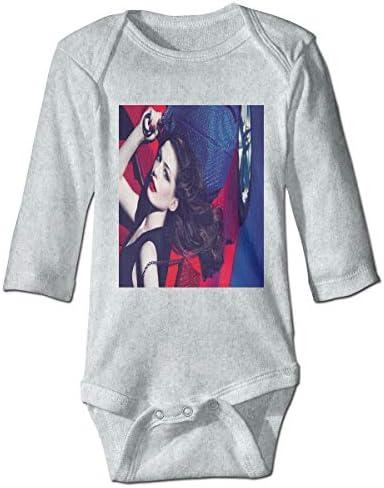赤ちゃん長袖練習クロール衣装 キャットウーマンAnne Hathaway 純粋な綿素材、赤ちゃんの肌を守り、温かく安全に保ちます