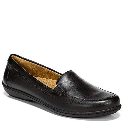 SOUL Naturalizer Women's Kacy Loafer, Black Leather, 9 M US