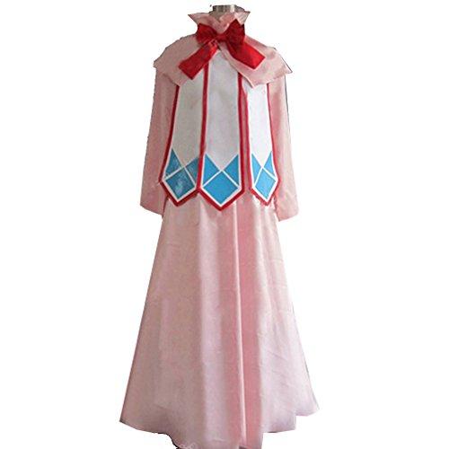 Cuterole Anime Fairy Tail Mavis Vermillion Cosplay Costume Lolita Dress Custom