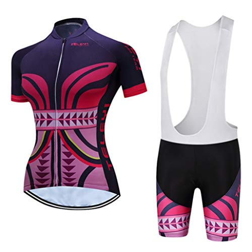 Riding Team Short Sleeve Women's Cycling Jersey Sets Summer Breathable Cycling Clothing
