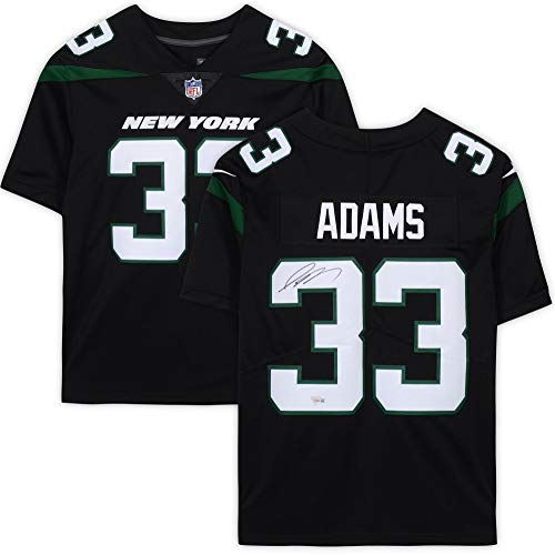 Jamal Adams New York Jets Autographed Nike Black Limited Jersey - Fanatics Authentic Certified - Autographed NFL Jerseys