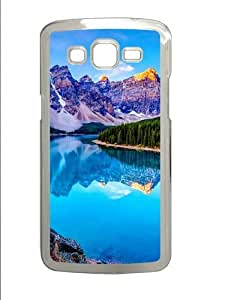 Samsung Grand 7106 Case and Cover -The Lake Mirror PC case Cover for Samsung Grand 2 and Samsung Grand 7106 Transparent