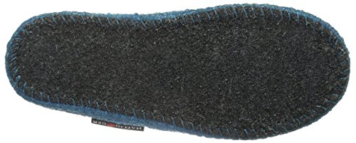 Haflinger Joschi - Zapatilla de estar por casa Niño Azul - Blau (Adria 45)