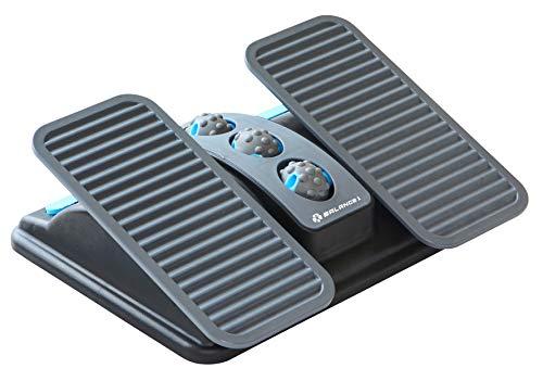 Balance 1 Ergonomic Office Footrest for Sitting Posture Correction (Grey)