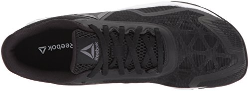 Reebok Womens Ros Workout Tr 2-0 Scarpa Cross-trainer Nera / Lega / Bianca