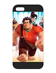Iphone 5s Funda Case - Disney Wreck It Ralph Extra Creative Unique Plastic Rugged Tough Protection Durable Fit For Iphone 5 / 5s