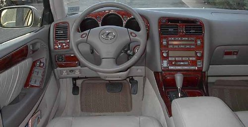 lexus gs 300 400 gs300 gs400 interior burl wood dash trim kit set 1998 1999 2000 buy online in. Black Bedroom Furniture Sets. Home Design Ideas