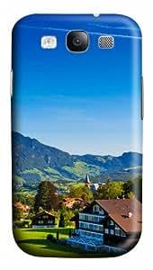 Swiss Alps PC Custom Design Case Cover for Samsung Galaxy S3 / SIII / I9300