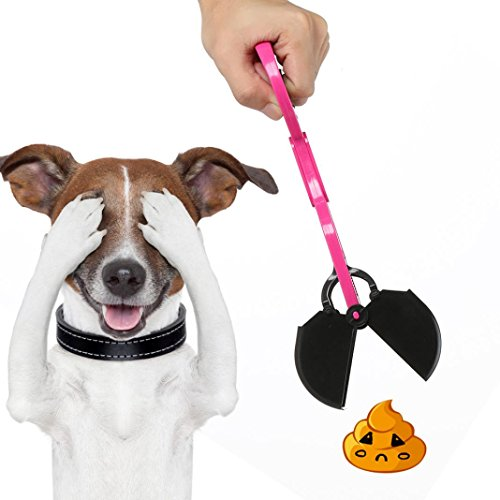 Purple Scooper (Heavy Duty Poo Pack Paw Jaws Pooper Scooper for Dog Cat Pet (Hot))
