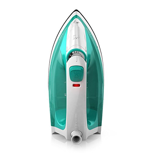 Black Decker Light N Easy Compact Steam Iron Turquoise