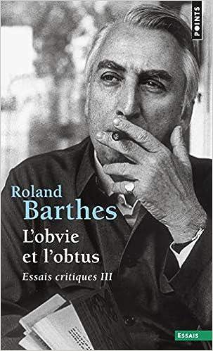 Como Descargar El Utorrent L'obvie Et L'obtus, Essais Critiques. Tome 3 Epub O Mobi