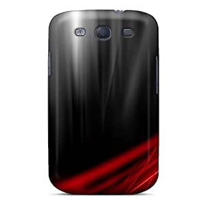 Galaxy Cover Case - Red Protective Case Compatibel With Galaxy S3