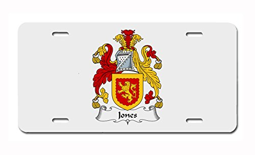 (Jones (Wales) Coat of Arms/Jones (Wales) Family Crest License Plate)