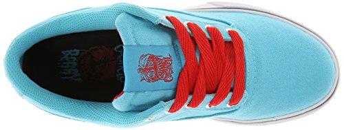 Osiris Caswell vlc unisex erwachsene, leder, sneaker skate Blau/Rot/Weiß