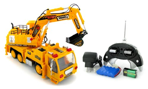 Construction Shovel Truck Electric RTR RC Vehicle Review