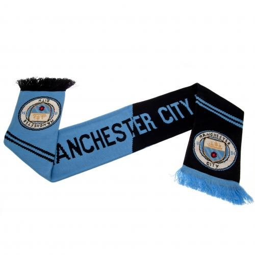 Manchester City FC Authentic EPL Knit Scarf VT – DiZiSports Store