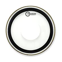 Aquarian SXPD16 Drumheads Studio-X with Dot 16-Inch Tom Tom Drum Head, with Dot