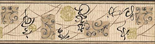(Wallpaper Border Oriental Design 7