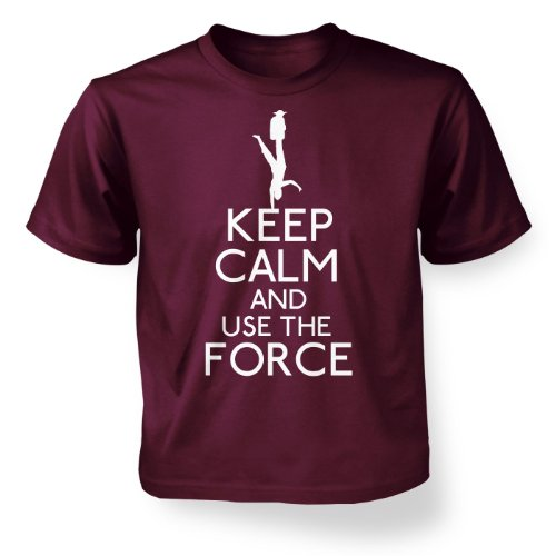 Maroon 5 Merchandise - Keep Calm And Use The Force Kids' T-shirt - Maroon 5-6 Years
