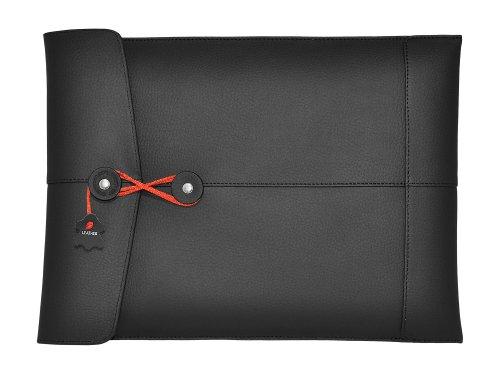 - Civilian PadManila Leather Sleeve for Ipad, Black
