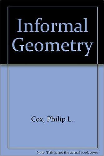 Amazon informal geometry 9780133517682 philip l cox books fandeluxe Images