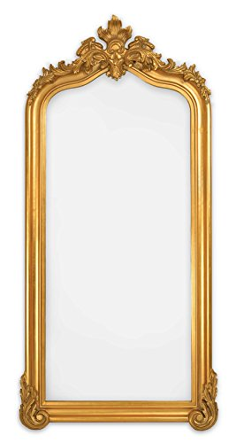 SBC Decor Blenheim Leaner Mirror, Antique Gold