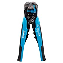 Capri Tools CP20012 Self-Adjusting Wire Stripper, Blue/Black, Small