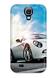 For Galaxy Case, High Quality Alfa Romeo Black Car Model Desktop For Galaxy S4 Cover Cases