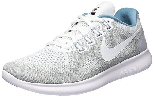 Nike Sneakers Flex Experience Rn 2 Msl Grigio (Gris Loup/Noir/Céruléen/Blanc)