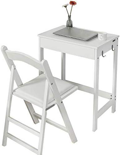 Haotian White Computer Desk Workstation Writing Desk Children Teenagers Desk