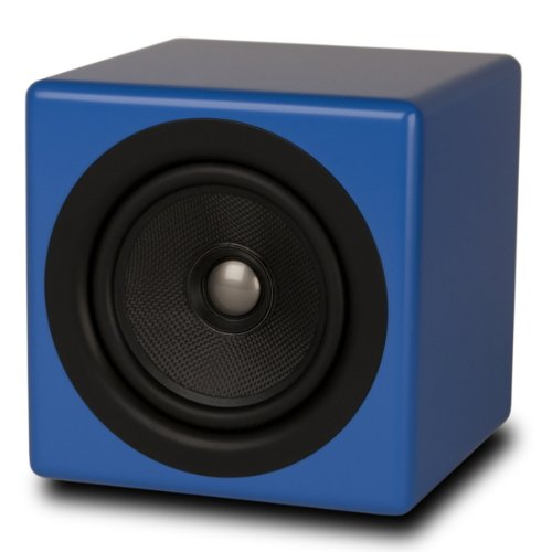 Kanto BENBLU 5-inch Passive Coaxial Speakers (Blue Matte) - Pack of 2