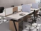 BUBOS Acoustic Desk Divider,Lightweight Desk