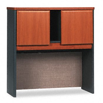 - Bush Series A Collection 36W Hutch, Natural Cherry