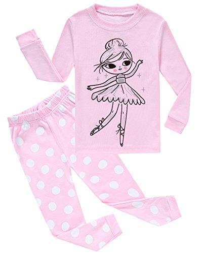 Girls-Pajamas-Little-Kids-Pjs-Sets-100-Cotton-Clothes-Size-12M-10Y