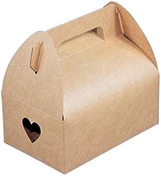 Yuphoo - Caja de papel para galletas (20 unidades), color blanco ...
