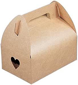 Caja de papel para galletas Yuphoo, 20 unidades, color blanco ...