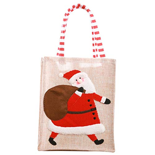 Best Halloween Treats To Hand Out - Nesee Christmas Candy Handbag,Non-Woven Fabrics Portable