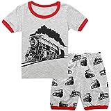 JNKLWPJS Car Little Boys Kids Pajamas Sets 100%...