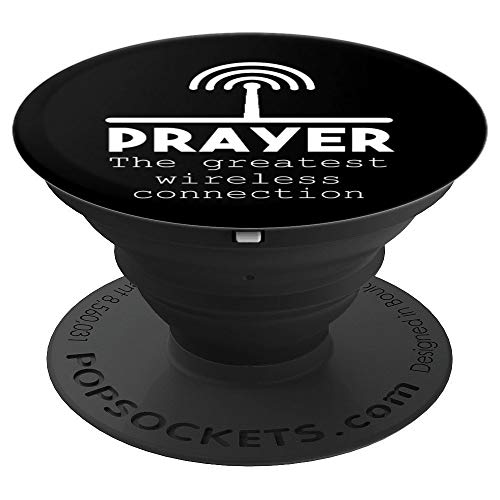 Funny Prayer Praying Pop Socket Grip - PopSockets Grip and Stand for Phones and Tablets